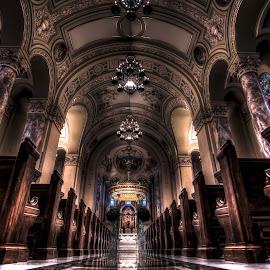 Saint Joseph Cathedral by Dan Ludeman - Buildings & Architecture Places of Worship ( southdakota, hdr, t3i, saint joseph cathedral, sioux falls, photo, tokina11-16 )