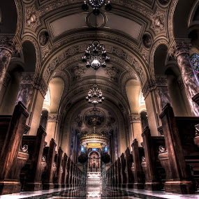 Saint Joseph Cathedral by Dan Ludeman - Buildings & Architecture Places of Worship ( southdakota, hdr, t3i, saint joseph cathedral, sioux falls, photo, tokina11-16 )