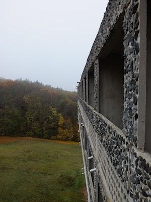 La Tourette - widok z balkonu