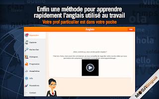 Screenshot of Apprendre l'Anglais Business