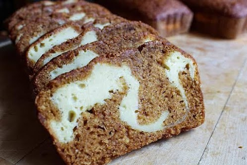 Cream Cheese Stuffed Sweet Potato Bread