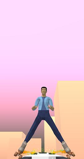 Sky Roller Skating - Rolling Balls  screenshots 5