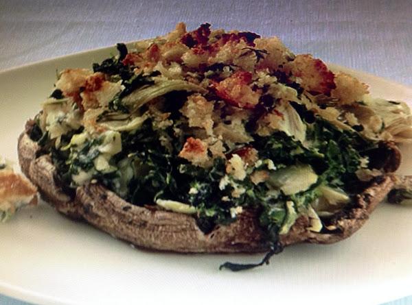 Portobello Mushrooms With Creamy Spinach-artichoke Recipe