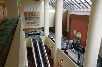 Photo: The conference lobby
