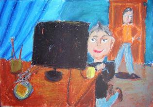 Photo: Лернер Нати. 7 лет. Студ. Т. Белоконенко. Израиль. г. Хайфа