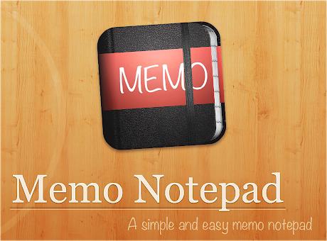 Memo Notepad
