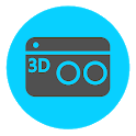 Camera 3D - 3D Photo Maker icon