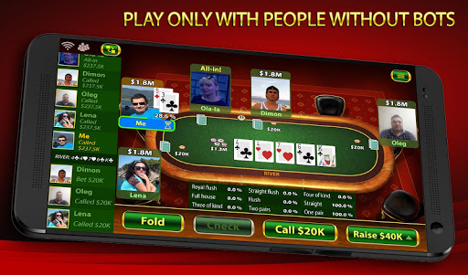Texas Holdem Poker: Pokerbot apkmind screenshots 5
