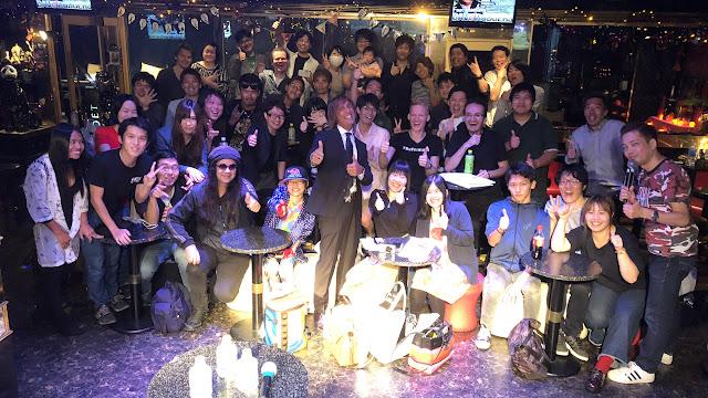 Dave Rodgers Fan Meeting at Maharaja in Tokyo in Tokyo, Tokyo, Japan