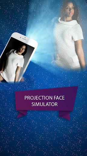 面對投影機模擬器