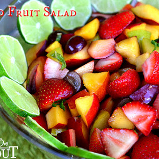Mojito Fruit Salad