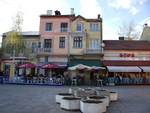 Photo: cafe action in the center of Radomir