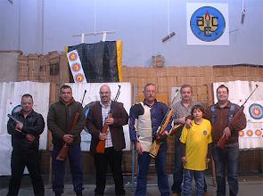 Photo: Equipa (da esq. para a dir.): Cláudio Quintino, João Fragoso, José Batista, Rogério Puga, João Gomes, Santiago Costa e Bruno Lima (capitão da equipa)