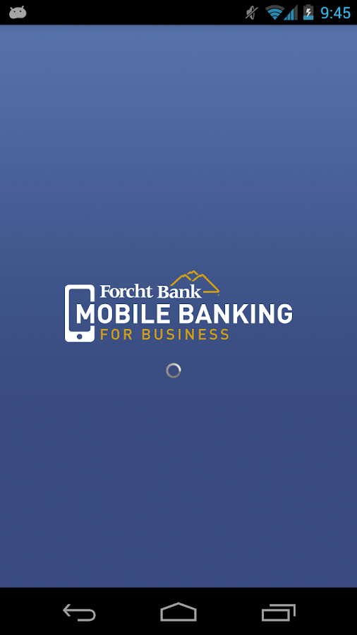 Forcht Bank Mobile Business- screenshot