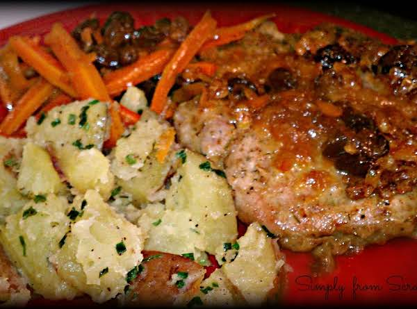 Paired With My  Https://www.justapinch.com/recipes/side/vegetable/brown-sugar-carrots.html?p=1  And My   Https://www.justapinch.com/recipes/main-course/pork/herb-crusted-pork-chops.html?p=1