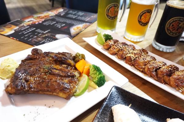 台南 善化 比爾樂仕 鮮釀啤酒/炭火牛排 近南科 大口吃肉喝啤酒 聚餐好去處