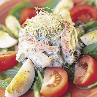 Spinach Artichoke Crab Salad.
