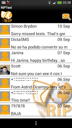 RIPText SMS RIP Text message APK   APKPure ai