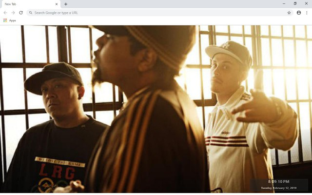 Dilated Peoples New Tab