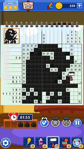 The Magic Brush - Picture Cross & Nonogram Puzzle screenshots 10