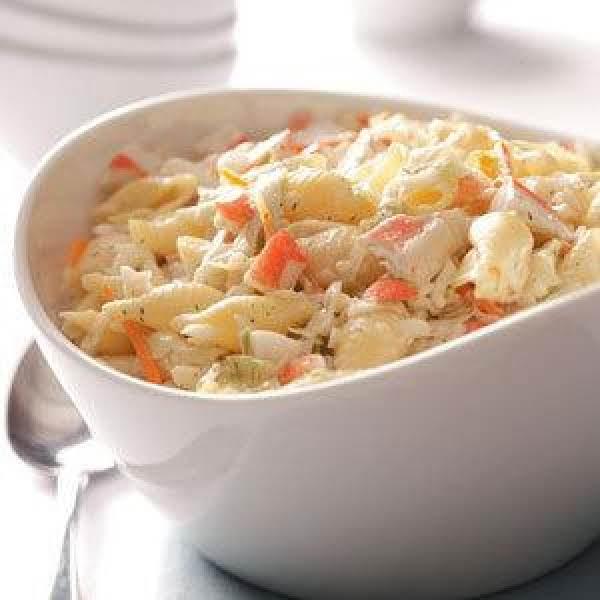 Family Favorite Crab Pasta Salad (Quick & Easy)_image
