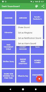 Dank Soundboard - náhled