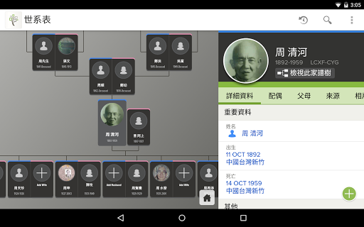 FamilySearch - 家譜樹