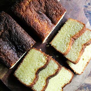 Ottolenghi's Lemon-semolina Cake.