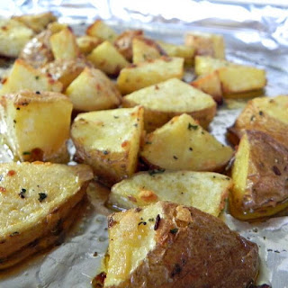 Onion Roasted Potatoes, a clean eating