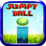 Jumpy Ball High Objects Icon