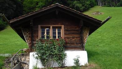 Photo: Alpesi műemlék ház