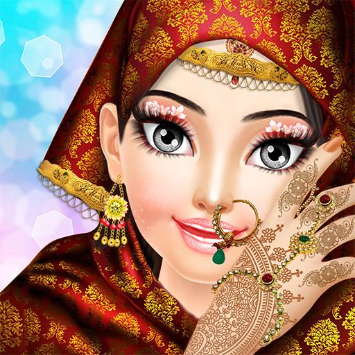 Indian Princess Doll Bride Dress Up  Salon Games