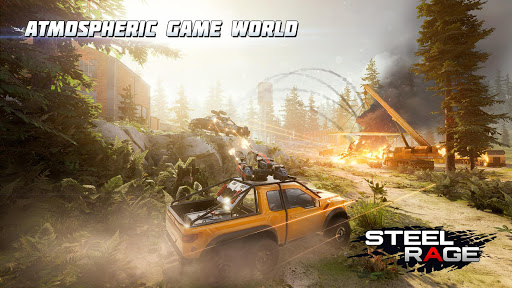 Steel Rage: Mech Cars PvP War, Twisted Battle 2020 screenshots 3