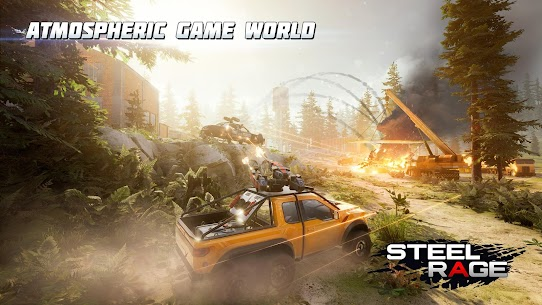 Steel Rage Robot Cars Mod Apk 0.157 (UNLIMITED AMMO, NO RELOAD) 3