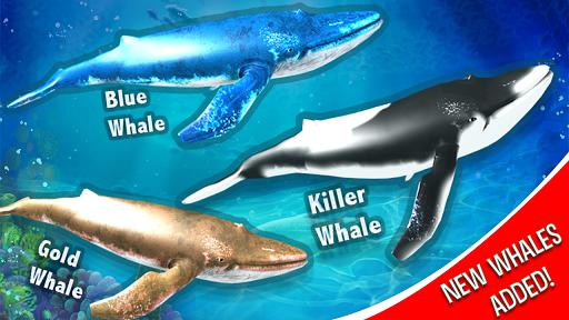 Blue Whale Simulator - Deep Ocean Adventure  screenshots 2