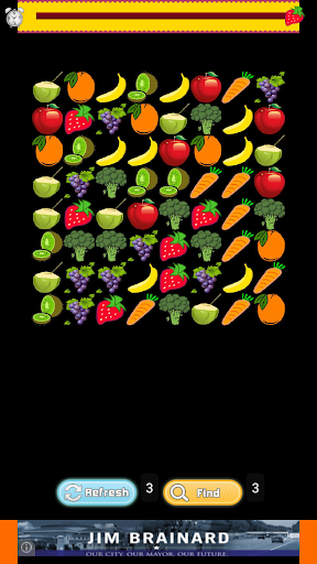 Free Fruit Match Game For Kids
