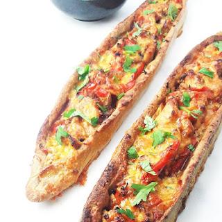 Turkish Pide Pizza.