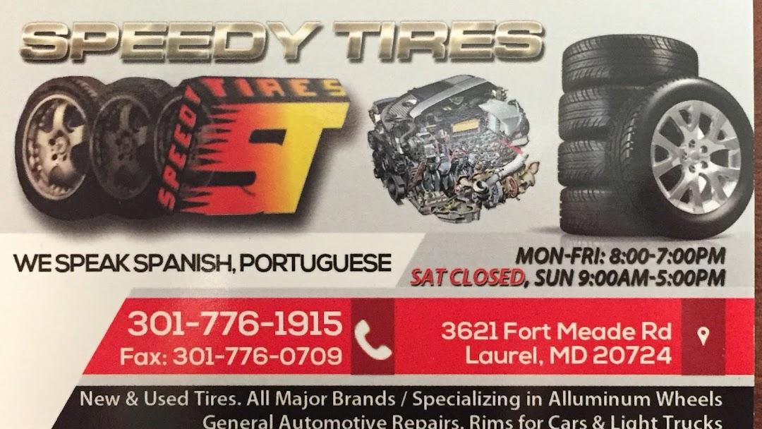 Nearest Used Tire Shop >> Speedy Tires Tire Shop In Laurel