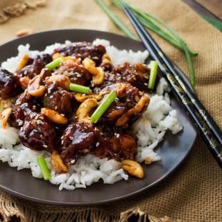 Copycat Spicy Cashew Chicken