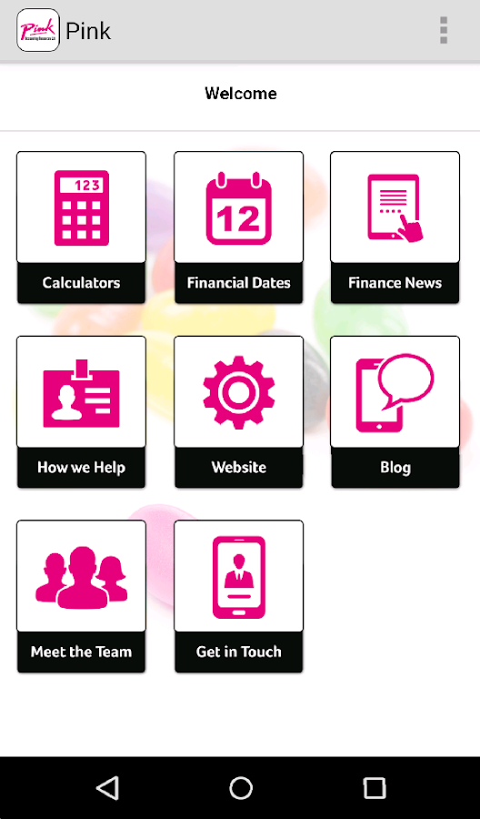 Pink Accounting Resources- screenshot