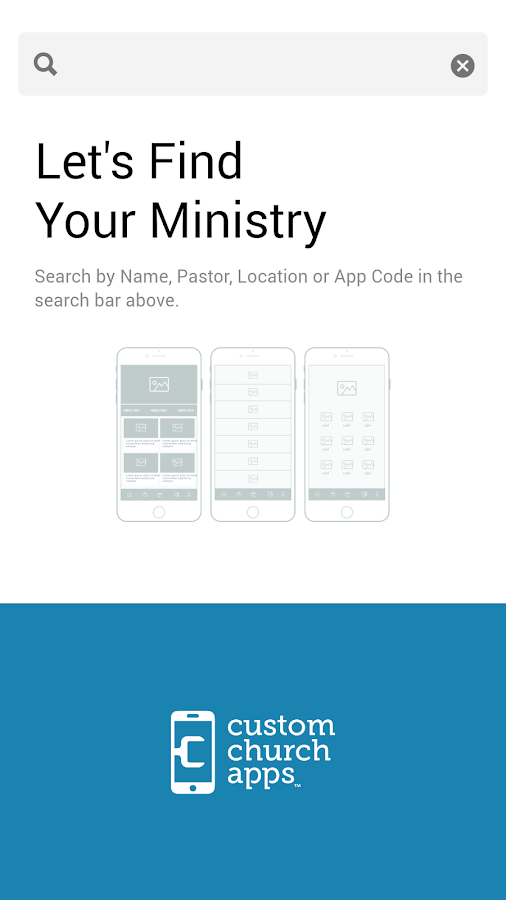 My Church App- screenshot