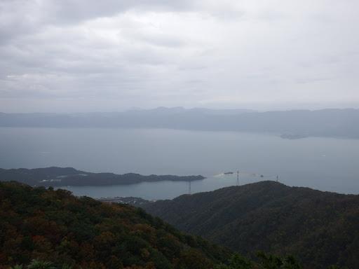 展望岩からの眺め(水島)
