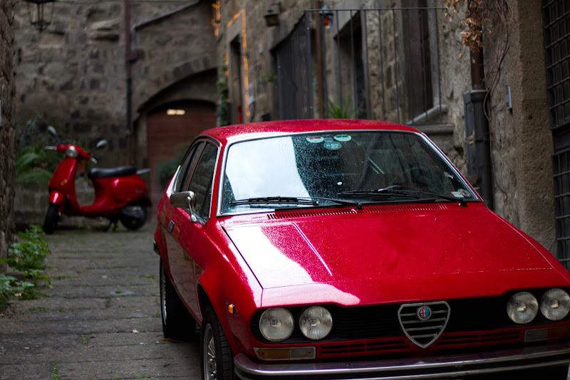 """Chi l'ha detto che """"rosso"""" vuol dire solo Ferrari? di Erre-Gi"""