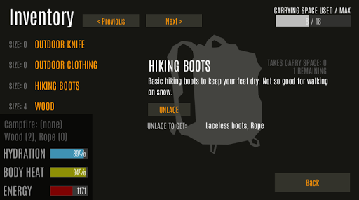 Survive - Wilderness survival  screenshots 9