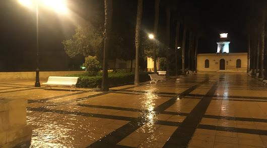Almería recoge en tres días más de la mitad de lluvia que en todo 2020