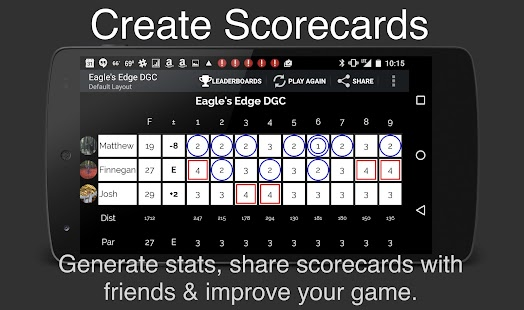 UDisc Disc Golf App- screenshot thumbnail