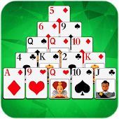 Pyramid Solitaire : 300 levels