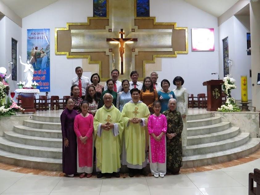 Mừng bổn mạng giáo họ Gioan Baotixita 2019