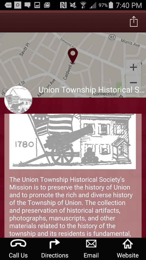 Township of Union Pocket Guide- screenshot