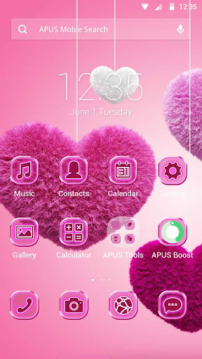 Closer Hearts theme for APUS